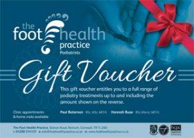 Foot Health Practice Gift Voucher